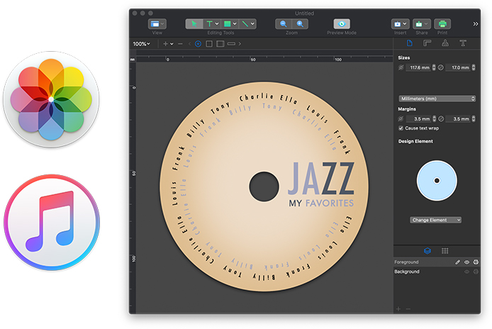 Cd And Dvd Label Software For Mac Swift Publisher