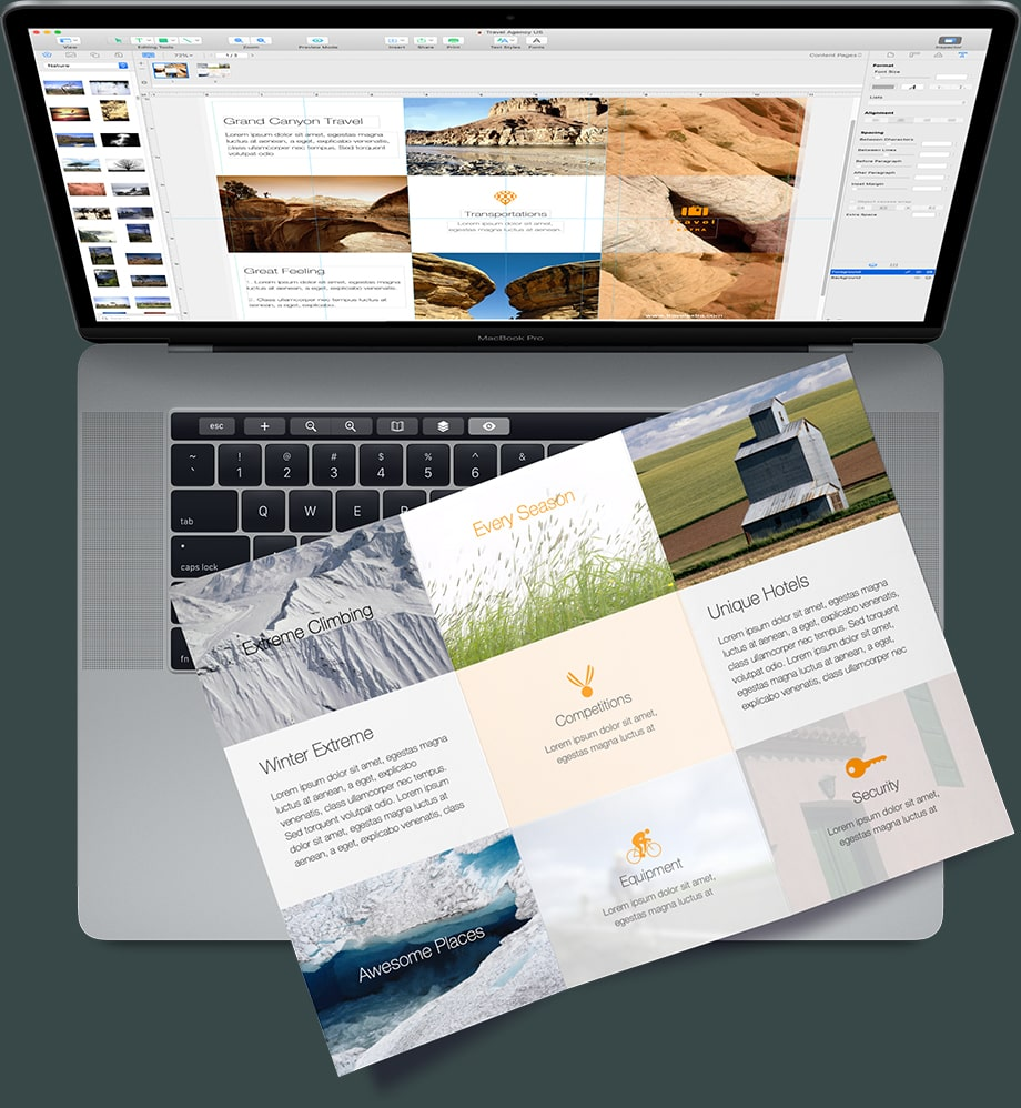 Create Flyers On Your Mac Flyer Design App Swift Publisher